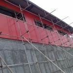 دیوار و حفاظ با ورق-036