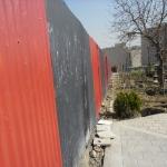 دیوار و حفاظ با ورق-040