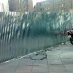 دیوار و حفاظ با ورق-050