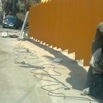 دیوار و حفاظ با ورق-052